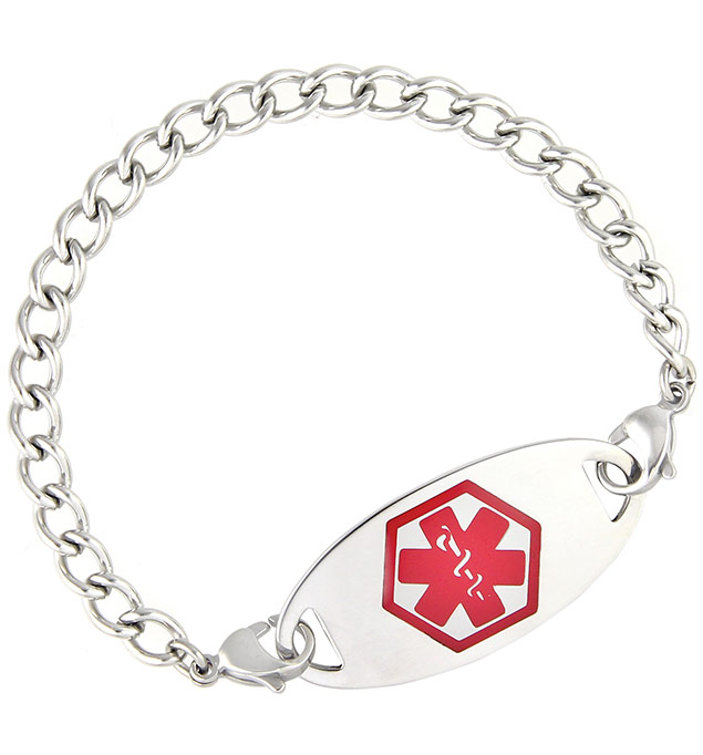 A372_Armstrong_Medical_ID_Bracelet_redOvalTag